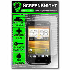 Screenknight Htc Desire C Frontal Protector De Pantalla Invisible Grado Militar Escudo