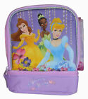 Disney Princess School Insulated Lunch Bag Tote NEW