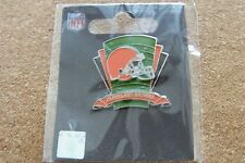 2013 Cleveland Browns logo on field lapel pin NFL