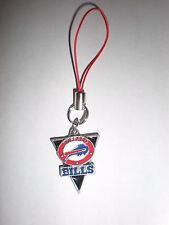 Buffalo Bills cell phone charm on red cord