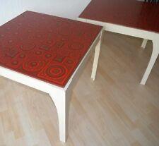 1er (von 2) Design Beistelltisch Tisch Couchtisch Space Age 70er mid century