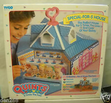 #5689 RARE NIB Vintage Tyco Quints Special For 5 House (No Dolls Or Accessories)