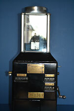 Johnson Fare Box,Bus Trolley Street Car Coin/Ticket Machine, Americana, 1920