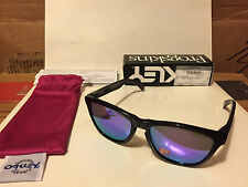 NEW Oakley POLARIZED Frogskins - Black Ink / Violet Iridium Polarized, OO9013-09