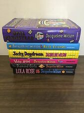 LOT OF 6 JAQUELINE WILSON HARDBACK BOOKS - Young Readers Good Read Condition #3