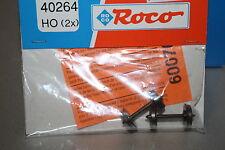 Roco 40264 2 Stück Radsatz RP25 Durchmesser 11mm Gleichstrom Spur H0 OVP