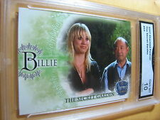 PENNY BILLIE KALEY CUOCO 2007 CHARMED FOREVER THE SECRET GARDEN # 33 GRADED 10