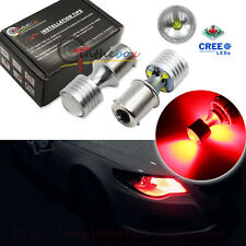 2PCS CANbus Red 20W 4-CREE LED Bulbs Fit VW Jetta MK6 Daytime Running Lights