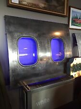 737 Airplane Fuselage panel Art, Aviation Art, Airplane Window, Aircraft