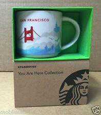 BRAND NEW STARBUCKS SAN FRANCISCO MUG CUP YOU ARE HERE COLLECTION SERIES 2015YAH