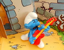 Schtroumpf rock in roll mac donald Smurf  puffi  pitufo puffo mac do macdo