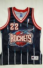 Vintage Clyde Drexler Houston Rockets Champion Authentic Jersey Size 40