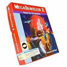 """MEGA TRAVELLER 2 by Paragon Vintage PC Game Software 3.5"""" Hard Disk FDD"""