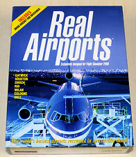 Real Airports FS Microsoft Flight Simulator 2000 -- GIOCO PC-come nuovo! megarar