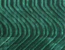 "WAVE SWIRL FLOCKING VELVET UPHOLSTERY FABRIC 60""W 19 COLOR BY THE YARD FREE SHIP"