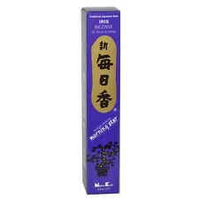Iris Morning Star Traditional Japanese Incense Includes 50 Sticks & Holder