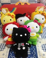 THAI HOT MCDONALD'S HELLO KITTY FAIRY TALES RARE 2014 COMPLETE 6 PCS TOY SANRIO