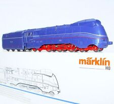Marklin HO 1:87 AC Deutsche Reichs Adler DR BR-03 Blue STREAMLINED LOCOMOTIVE MB