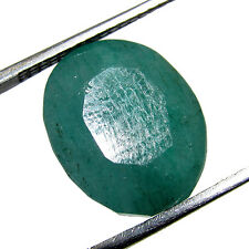 6.50Ct. Good Looking Natural Oval Cut Colombian Emerald Gemstone stone-CH 5183
