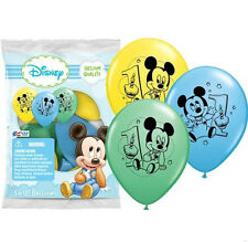 Baby Mickey Mouse 1st First Birthday Favor Balloons Party Supplies Decorations
