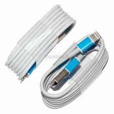 2pcs USB Lightning Cable Data Sync Charger Cord for Apple iPhone 5 6 6S 7 Plus