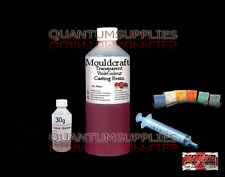1kg MOULDCRAFT TRANSPARENT MAGENTA COLOUR CASTING RESIN USE WITH JEWELLERY