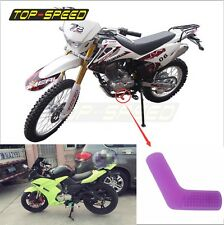 Purple Rubber Shift Sock Boot Shoe Protector Shifter Cover Sportbike TOP