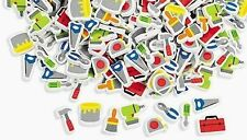"""30 Tool Foam Beads Kids Craft Father's Day 3/8"""" - 1 1/4"""