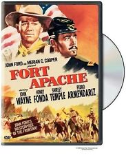 FORT APACHE JOHN WAYNE HENRY FONDA JOHN FORD SHIRLEY TEMPLE LIKE NEW WB 2006 DVD