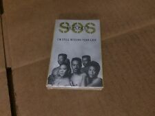 THE S.O.S. BAND I'M STILL MISSING YOUR LOVE FACTORY SEALED CASSETTE SINGLE