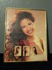 Selena Quintanilla Perez 1995 Q Productions Vintage Tejano Rare Framed Poster