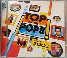 Various Artists - Top Of The Pops Spring 2003 (CD 2003) 2 Disc Pop Compilation