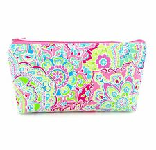 Cosmetic Bag, Zip Pouch, Makeup Bag, Pencil Case, Travel Bag - Pink Bohemian