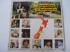 THE ACCORDION ROUND THE ANTIPODES - RARE NZ LP