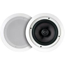 """50-16615 6"""" Ceiling Speaker Pair (2) - with 30W Stereo Amplifier and Bluetooth"""