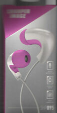 SHARPER IMAGE SHP895WHPK Premium Noise Canceling HD Earbuds with Built-In Mic