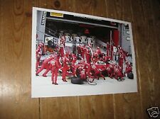 Michael Schumacher Ferrari Amazing Pit Stop F1 POSTER