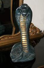 ANTICO EGITTO SERPENTE statua gesso COBRA divinità WADJET (Uadjet) FARAONE