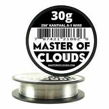 250 ft - 30 Gauge AWG A1 Kanthal Round Wire 0.25mm Resistance A-1 30g GA 250'