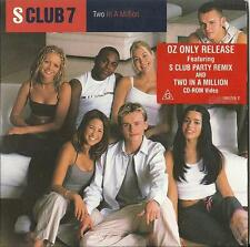 S CLUB 7 2 IN A MILLION / S CLUB PARTY+VIDEO CD ROM PAUL CATTERMOLE OZ TOUR 2017