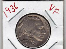 1936   Buffalo Nickel in VERY FINE condition Buff 2