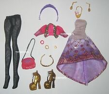 Ever After High Holly O'Hair Doll Outfit Clothes Dress Hose Shoes NEW Monster