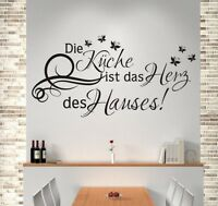 Wandaufkleber Wandtattoo Aufkleber Küche Herz des Hauses HOME Dekor 103