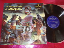 THE JOYS AND SORROWS OF ANDALUSIA-LP VINYL VG+/N.MINT/TKL 93109/UK