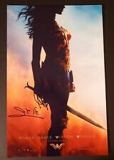 "GAL GADOT Authentic Hand-Signed ""WONDER WOMAN 2017"" 11x17 Photo (PROOF)"