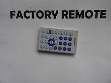 AUDIOVOX 13642300 DVD PLAYER REMOTE CONTROL