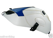 BMW S1000RR 2015 BAGSTER Tank Protector Cover WHITE BLUE 1662G for Clip Tank Bag