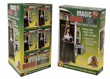 MAGIC MESH MAGNETIC FASTENING DOOR FLY SCREEN BUG INSECT CURTAIN HANDS