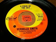 VERDELLE SMITH - A PIECE OF THE SKY - TAR AND CEMENT/ LISTEN - TEEN GIRL POPCORN