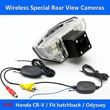 A816 WIRELESS CAR REAR VIEW BACKUP CAMERA FOR HONDA CR-V / FIT / ODYSSEY